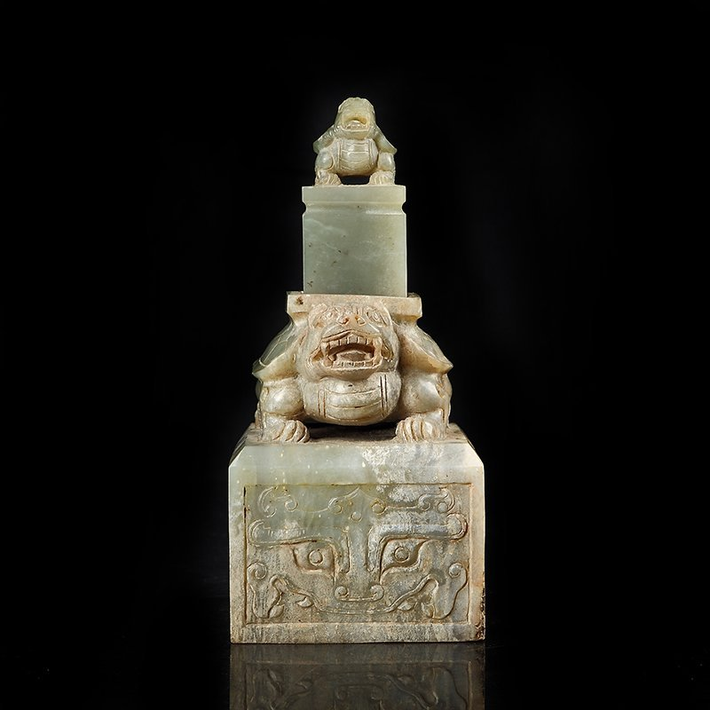 The han dynasty the tortoise big seal