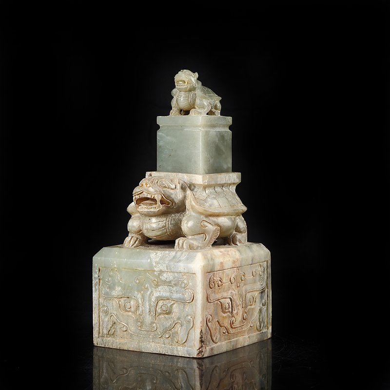The han dynasty the tortoise big seal - 3