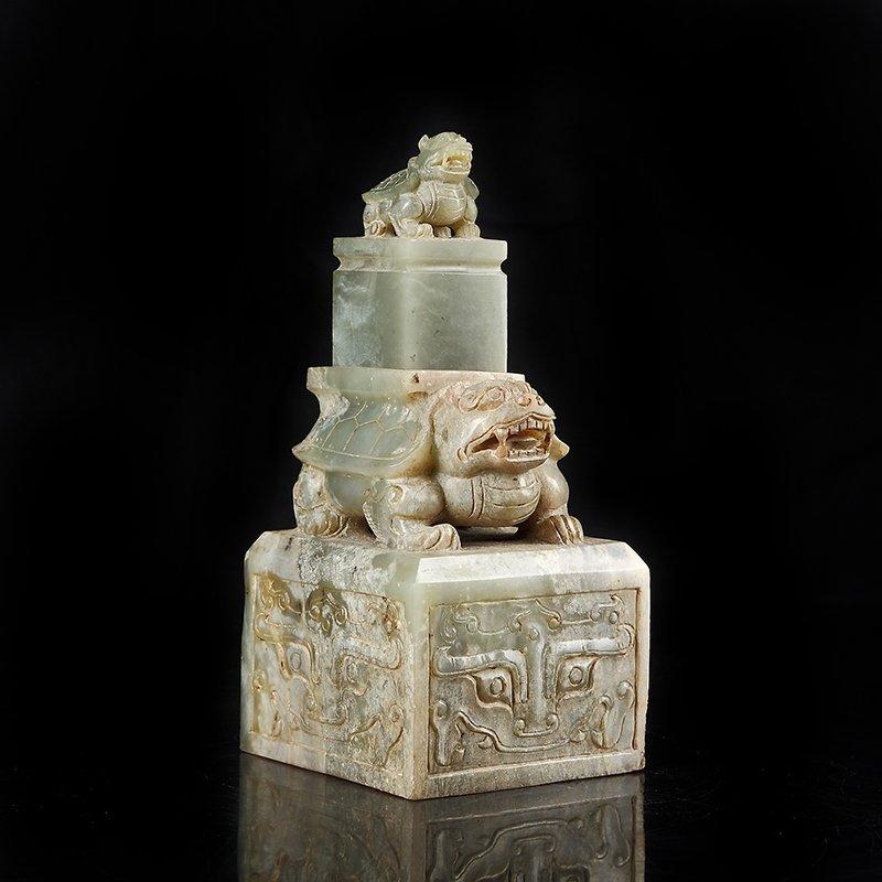 The han dynasty the tortoise big seal - 4
