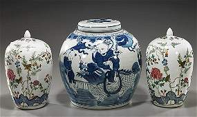 Three Various Chinese Porcelains