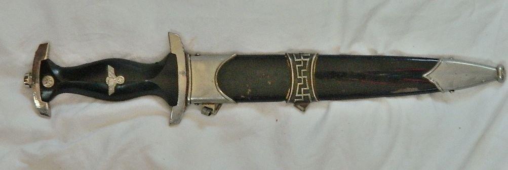 WWII German Luneschloss SS Dagger RZM m7/14