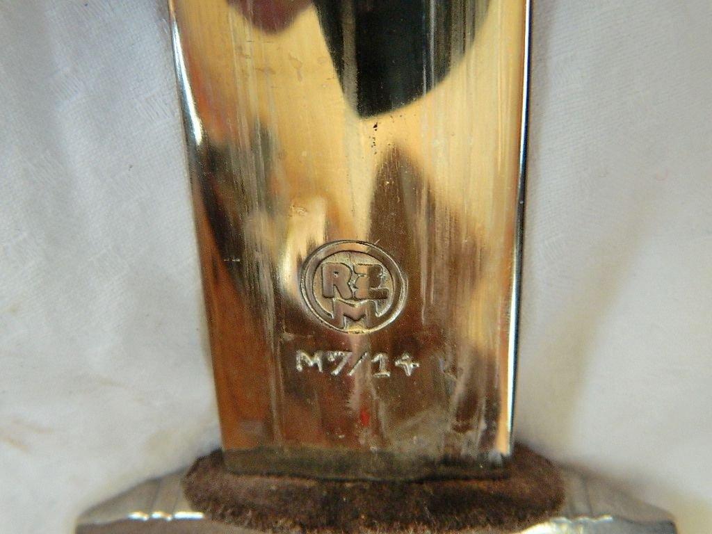 WWII German Luneschloss SS Dagger RZM m7/14 - 6
