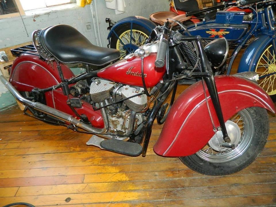 1947 Indian Chief Original Red