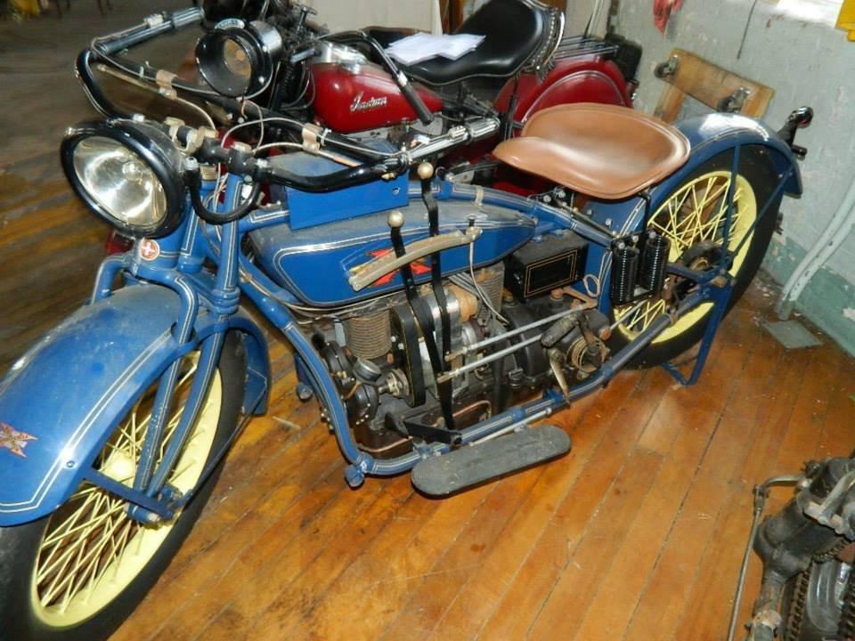 1923 Henderson Motorcycle & Goulding Side Car