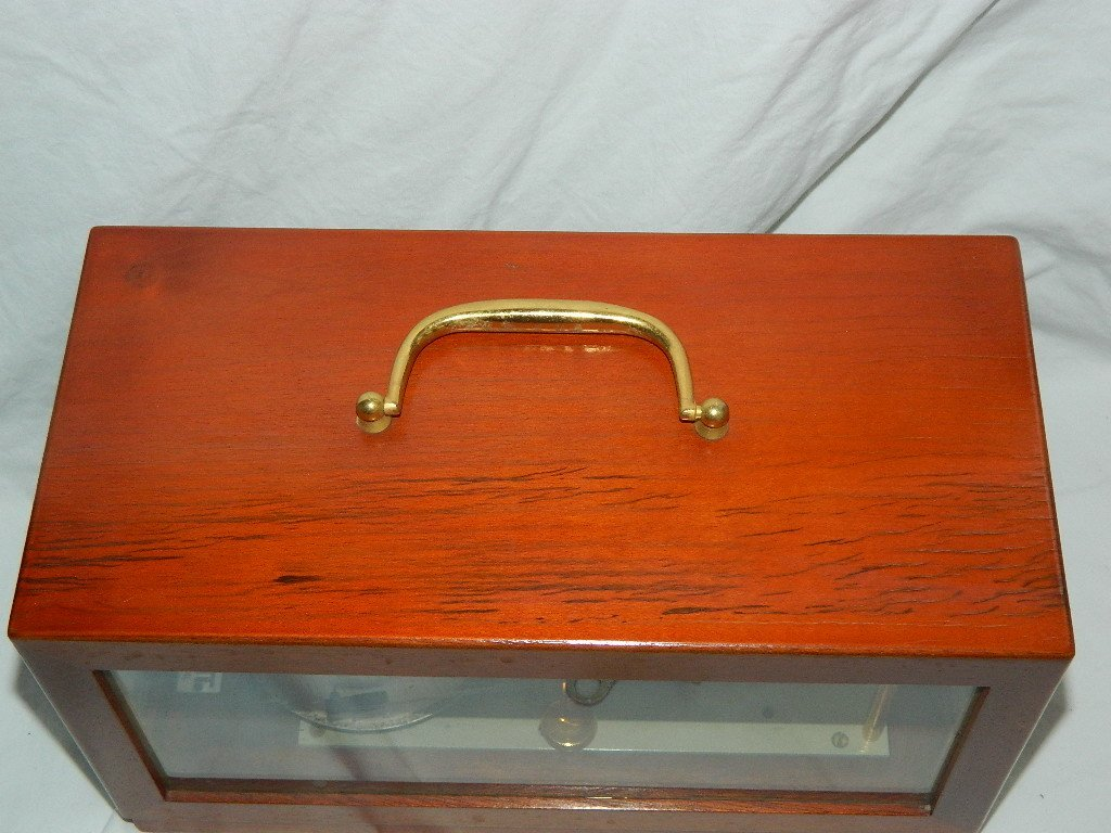 Vintage French Maxant 93100 Montreuil Marine Barograph - 8