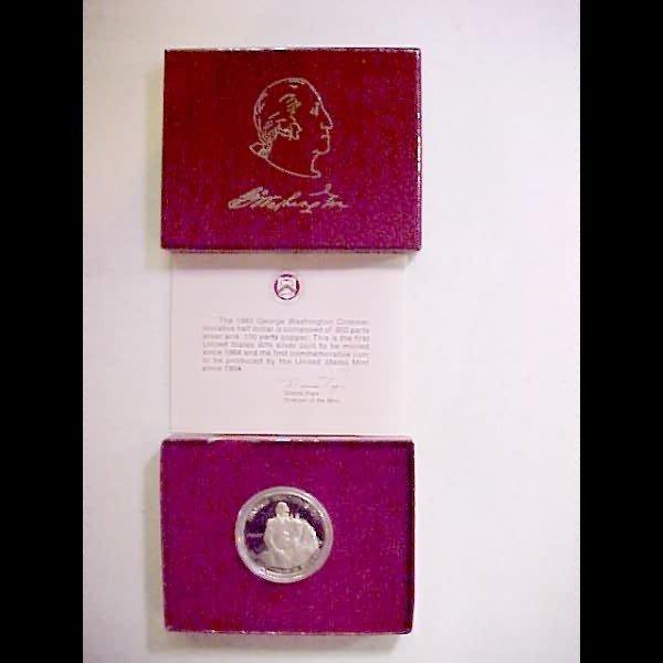 16: 36 George Washington Commemorative Half Dollars