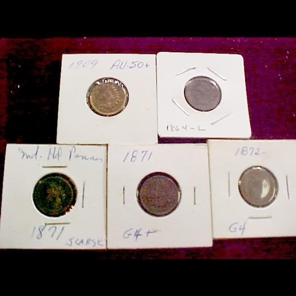 266: Indian Head Cents