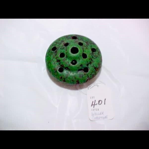401: Weller Coppertone Flower Frog