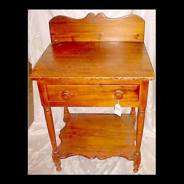 404: c.1835 Pine Washstand