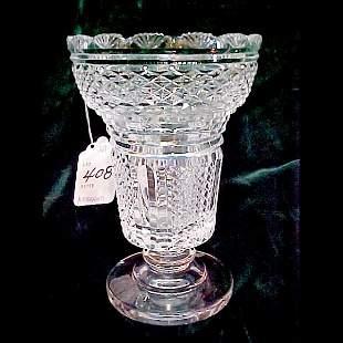 """9"""" Waterford Crystal Vase"""