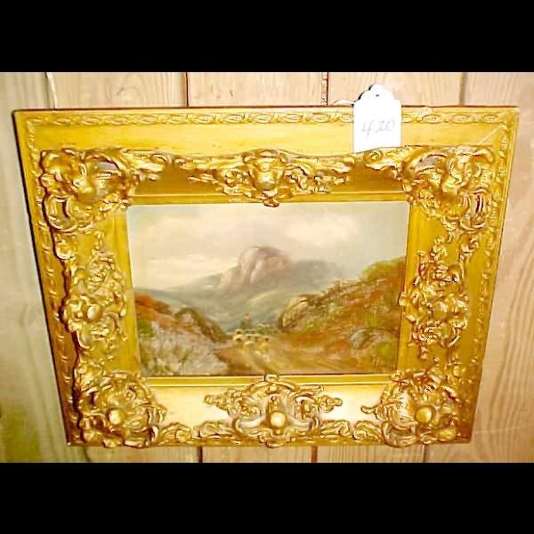 420: 19th Century Oil on Canvas