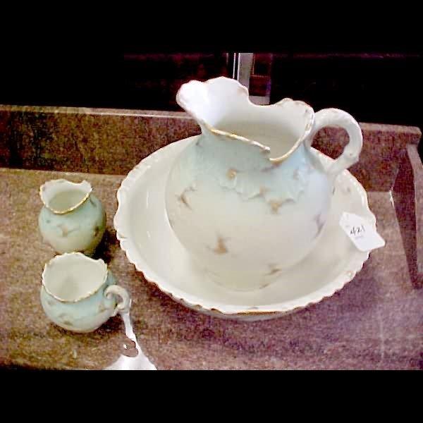 421: 4 pc. Washbowl Set