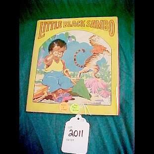 Scarce 1st Edition Little Black Sambo 1942 Cloth-