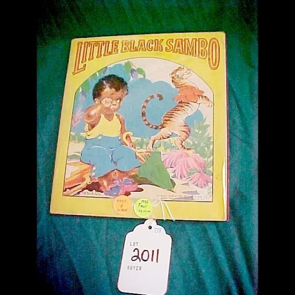 2011: Scarce 1st Edition Little Black Sambo 1942 Cloth-