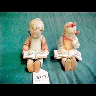 Hummel Bookworm #14 Bookends
