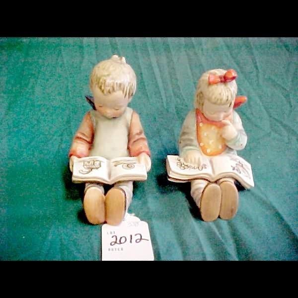 2012: Hummel Bookworm #14 Bookends