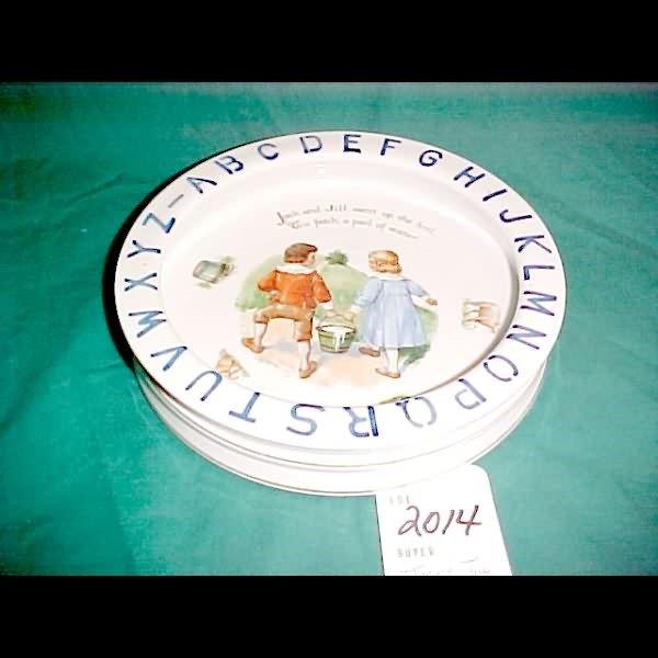 2014: Jack & Jill Nursery Rhyme - Child's Alphabet Food