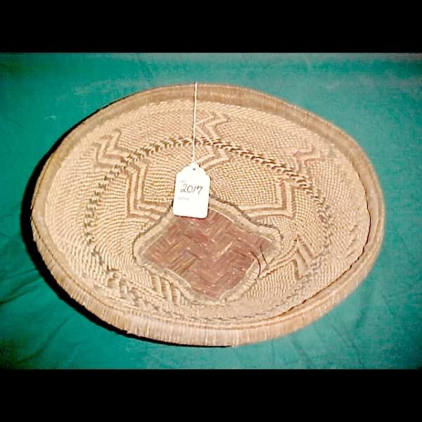 2017: Early American Indian(?) Woven Basket