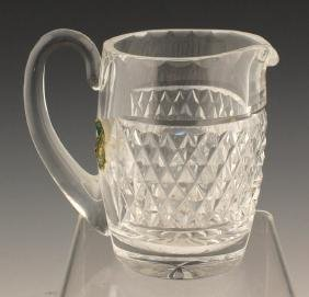 WATERFORD CUT GLASS CREAMER PITCHER IRELAND
