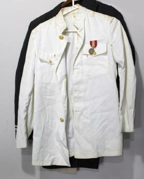 AMERICAN NAVAL WHITE BLUE UNIFORM 1971