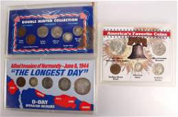 3 UNITED STATES SILVER COIN COLLECTION SETS