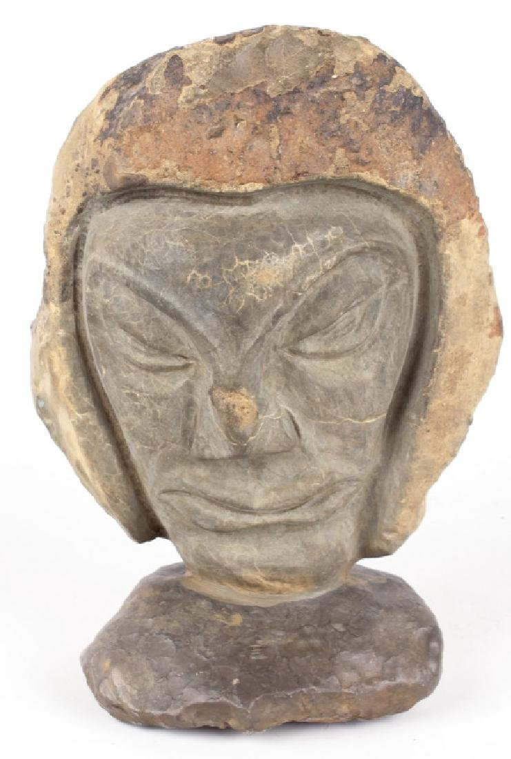 INUIT STONE CARVING AIPALOVIK GOD OF THE SEA