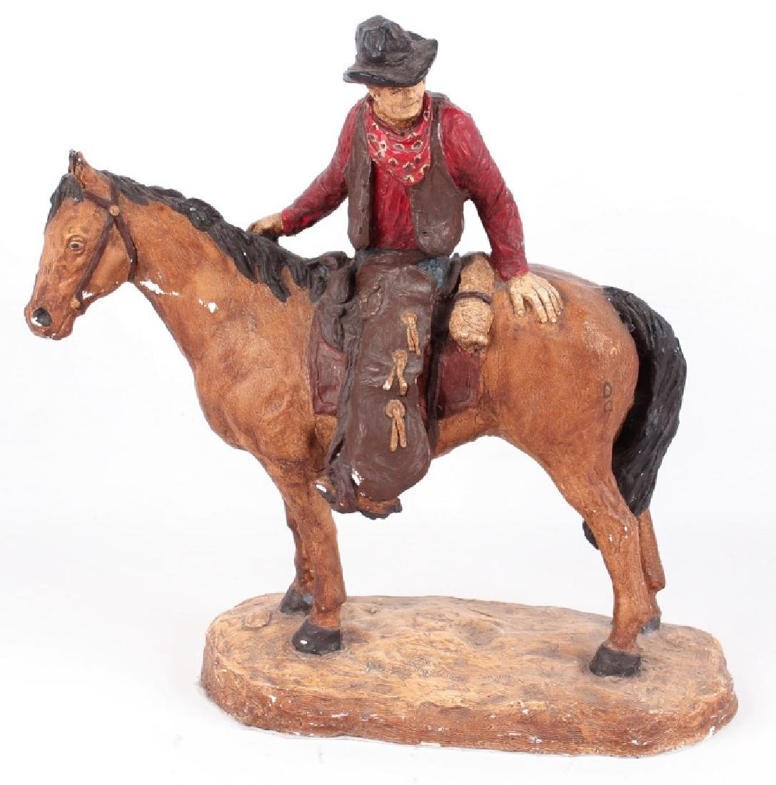 DANIEL MONTFORD THE HERDER SCULPTURE
