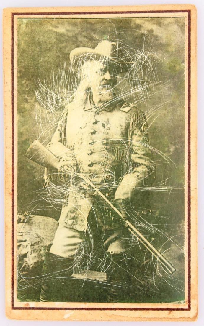 REPRODUCTION BUFFALO BILL CODY SOUVENIR CARD