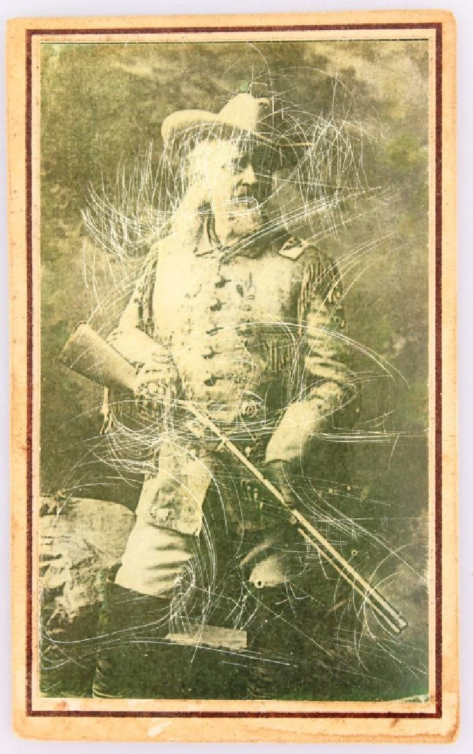 REPRODUCTION BUFFALO BILL CODY SOUVENIR CARD