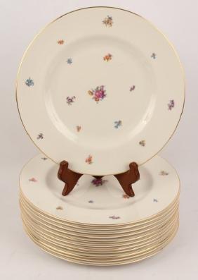 PICKARD BONE CHINA DINNER PLATES