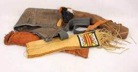 4 LEATHER ARROW QUIVERS
