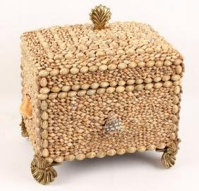 MAITLAND SMITH SEA SHELL BOX