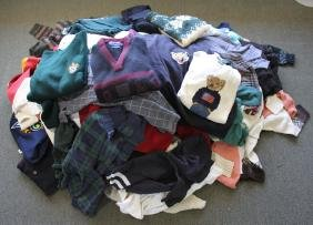 LARGE LOT OF ASSORTED DESIGNER SWEATSHIRTS