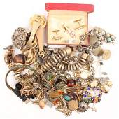 MIXED COSTUME JEWELRY