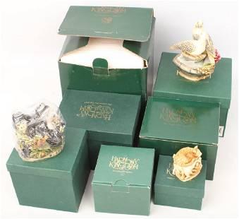 7 HARMONY KINGDOM TRINKET BOX FIGURINES