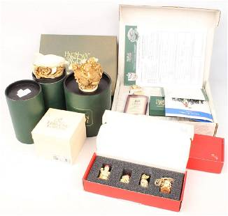 9 HARMONY KINGDOM TRINKET BOX FIGURINES