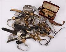 LARGE LOT OF MENS  WOMENS WRIST WATCHES