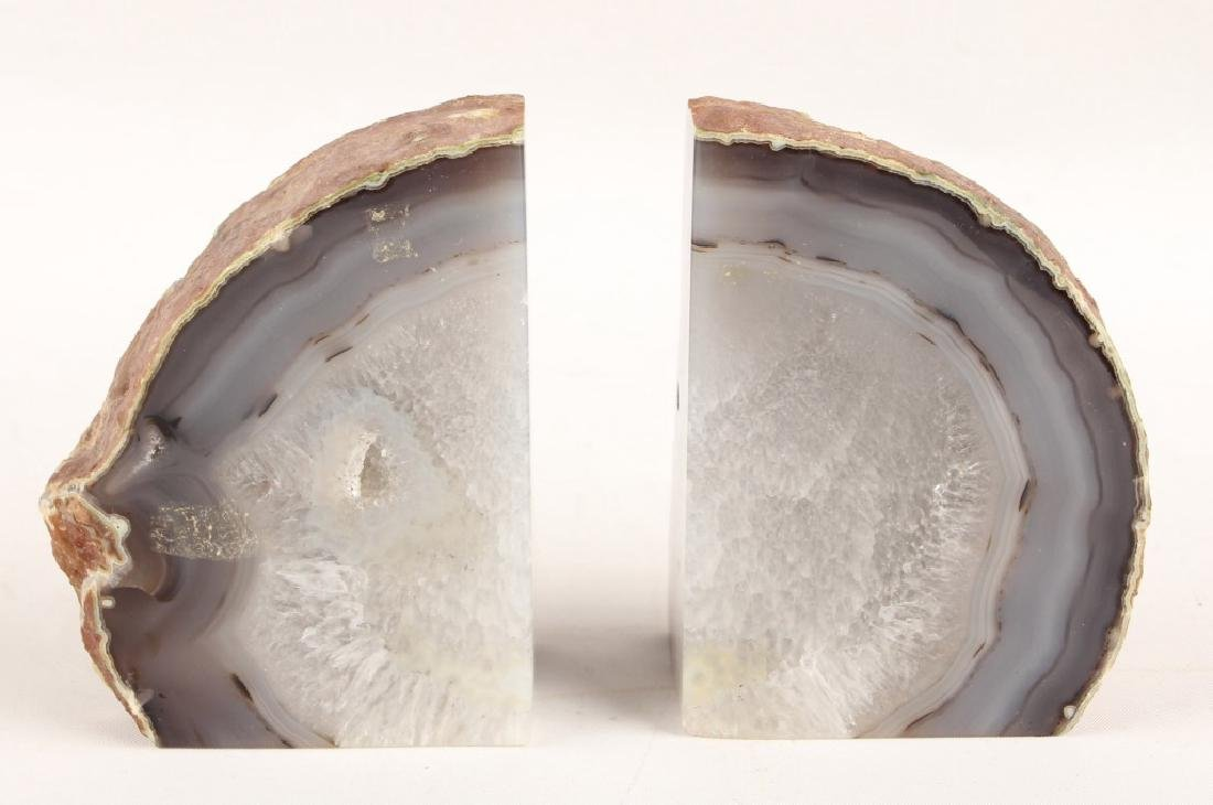 GEODE CRYSTAL BOOKENDS