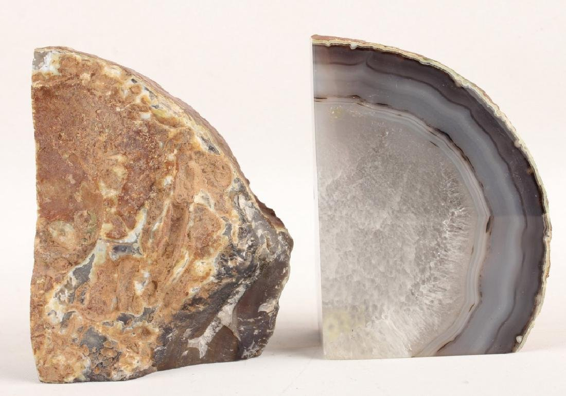 GEODE CRYSTAL BOOKENDS - 2
