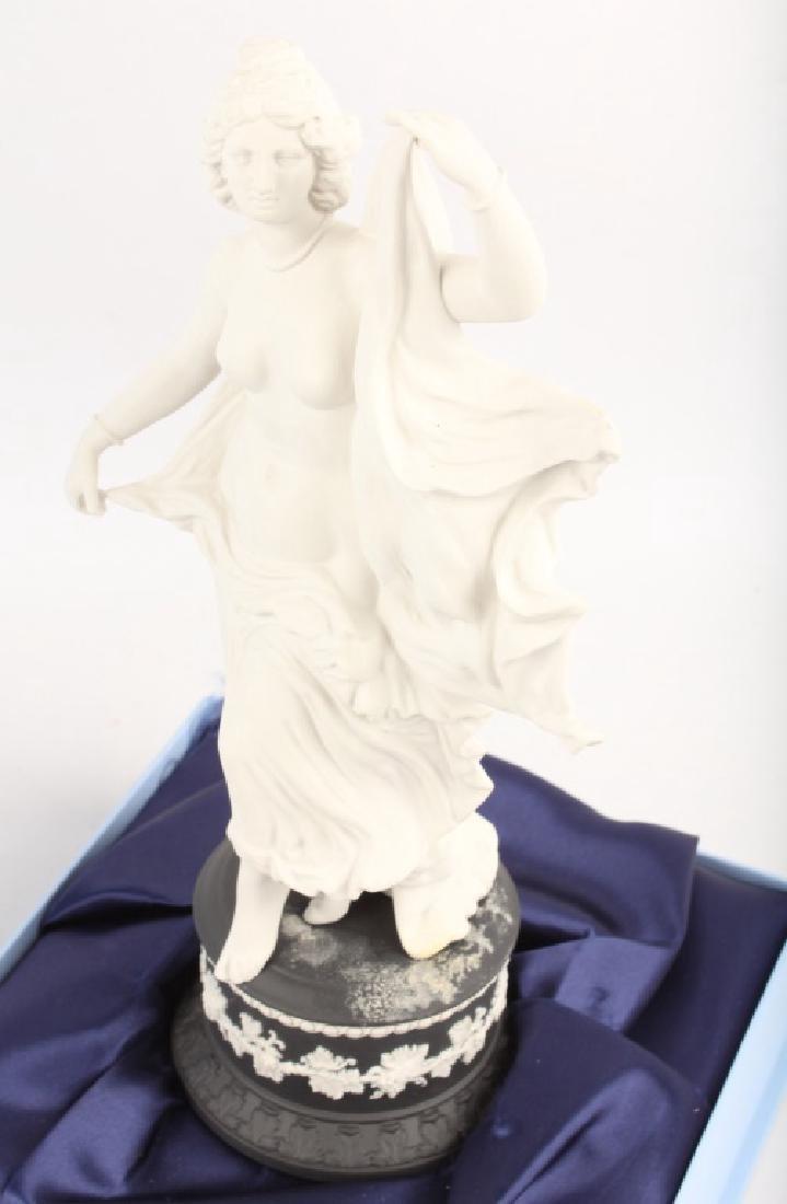 4 PORCELAIN WEDGWOOD HERCULANEUM DANCER FIGURINES - 10