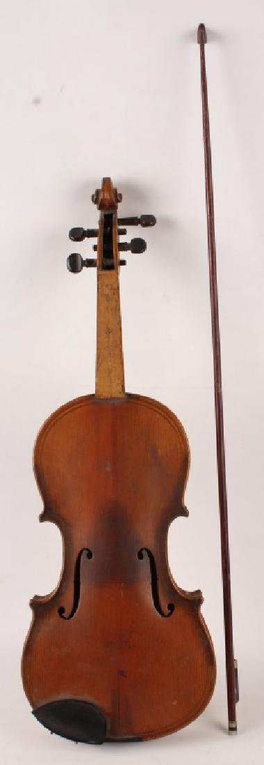 VIOLIN WITH BOW FOR PARTS