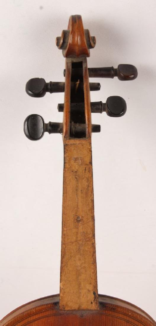 VIOLIN WITH BOW FOR PARTS - 3