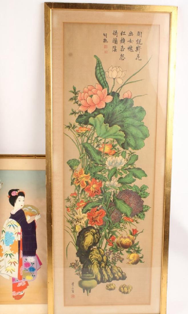 6 PIECES OF MIXED CHINESE ARTWORK - 5