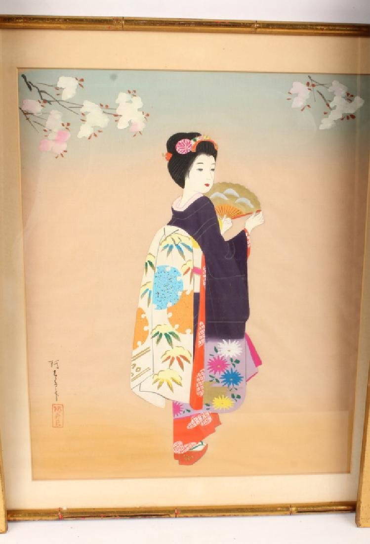 6 PIECES OF MIXED CHINESE ARTWORK - 7