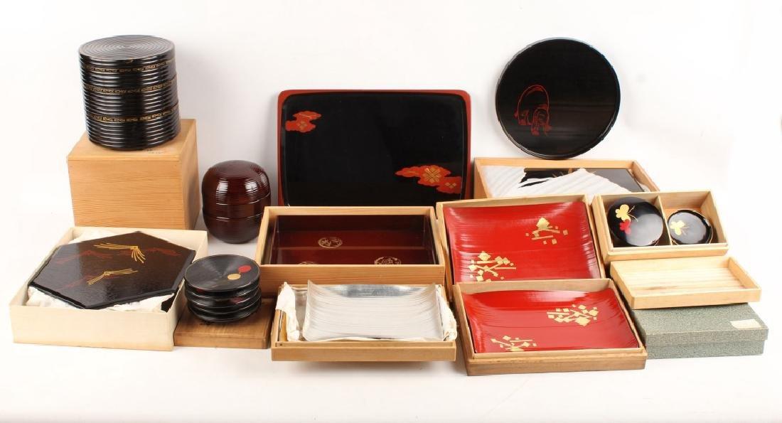 KYOTO HEIAN ZOHIKO JAPANESE LACQUERWARE