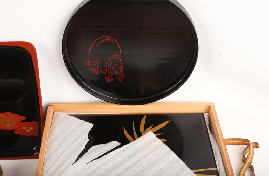 KYOTO HEIAN ZOHIKO JAPANESE LACQUERWARE - 2