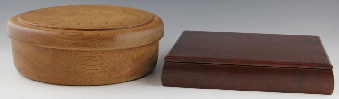 (2) LARGE JAPANESE BENTO BOXES
