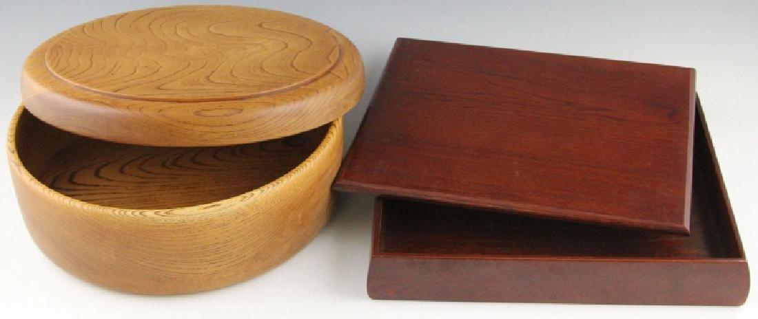 (2) LARGE JAPANESE BENTO BOXES - 2
