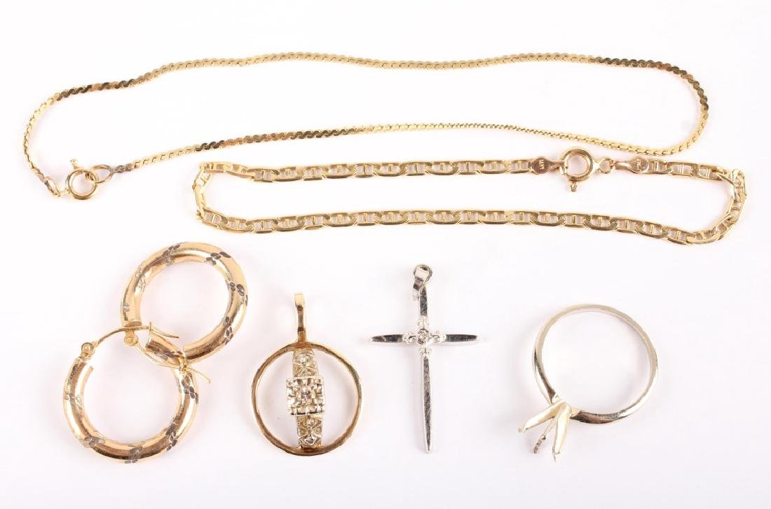 MIXED 14K GOLD JEWELRY