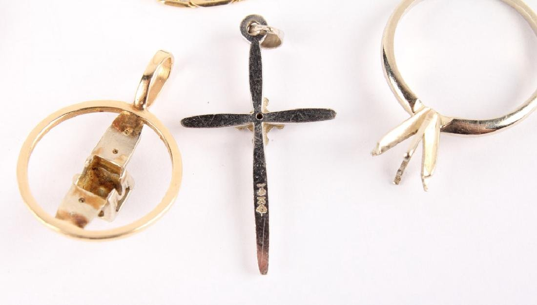 MIXED 14K GOLD JEWELRY - 6